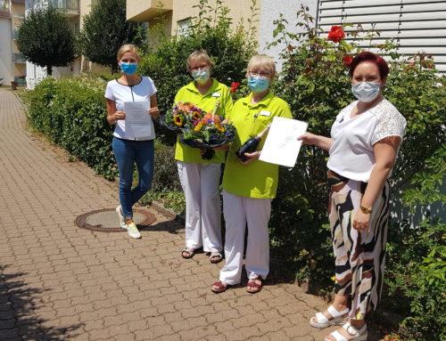 Das starke Betreuungs-Team im Haus Edelberg Senioren-Zentrum Lauffen