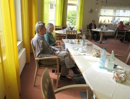 Geburtstagskaffee im Senioren-Zentrum Weingarten