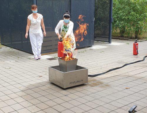 Brandschutzschulung im Senioren-Zentrum Bad Friedrichshall
