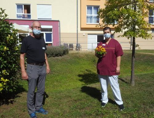Im Senioren-Zentrum Lingenfeld gab es etwas zu feiern