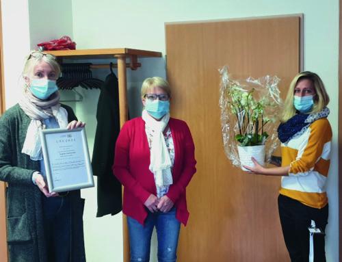 Silbernes Dienstjubiläum im Haus Edelberg Senioren-Zentrum Pfinztal