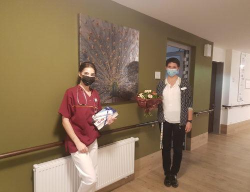 Gratulation und Neuzugänge im Senioren-Zentrum Pfauenhof