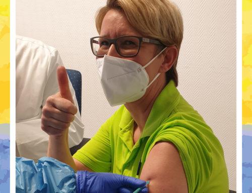 In unseren Haus Edelberg Senioren-Zentren wird fleißig geimpft!