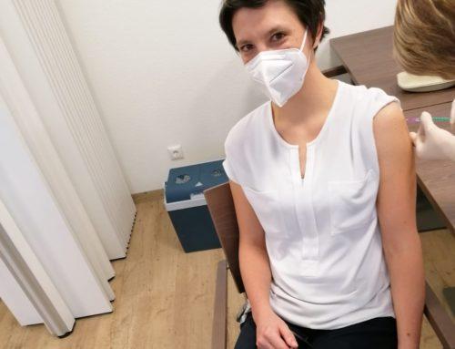 Corona-Impfung im Haus Edelberg Senioren-Zentrum Pfauenhof in Tuttlingen