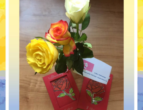 Blumen zum Weltfrauentag