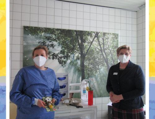 Tatkräftige Unterstützung im Senioren-Zentrum Weingarten