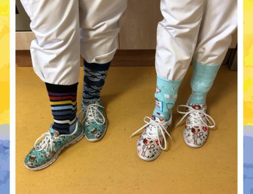 #Sockenaufforderung zum Welt-Down-Syndrom-Tag
