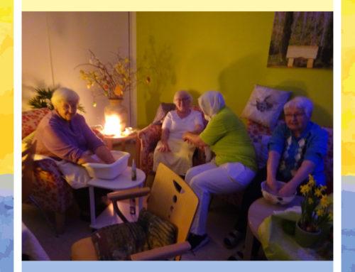 Gelungener Wellnesstag im Haus Edelberg Senioren-Zentrum Pfinztal