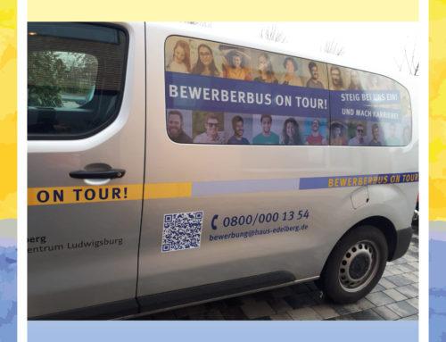 Der Hausbus des Senioren-Zentrums Ludwigsburg in neuem Gewand