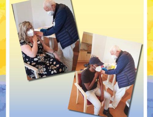 Zweite Impfwelle im Senioren-Zentrum Stutensee