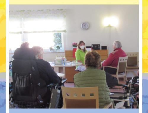 Chorprobe im Haus Edelberg Senioren-Zentrum Weingarten
