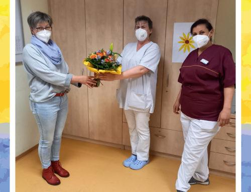 Senioren-Zentrum Lingenfeld verabschiedet sich von Praktikantin