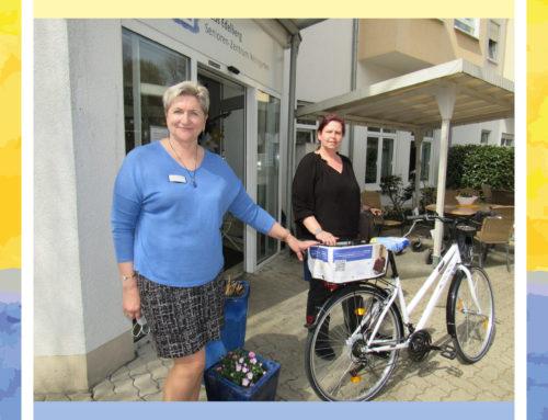 Haus-Edelberg Fahrrad für unsere Mitarbeiterin