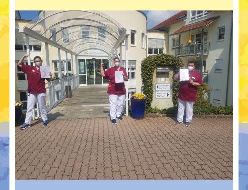 Weiterbildung für vier Mitarbeiter vom Senioren-Zentrum Lauffen