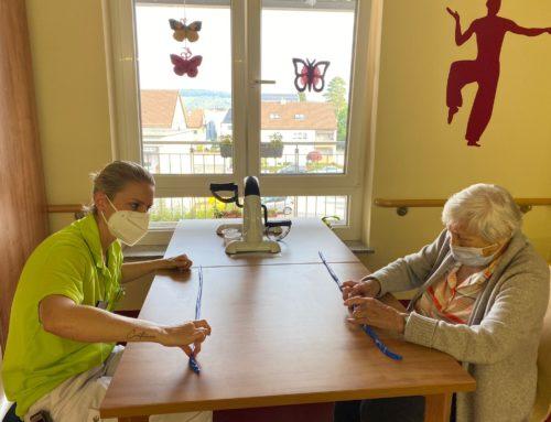 Ergotherapie im Haus Edelberg Senioren-Zentrum Schorndorf