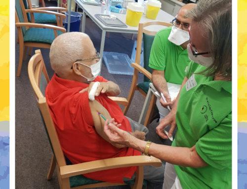 Booster-Impfung für das Senioren-Zentrum Ludwigsburg